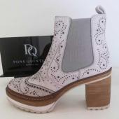 Eclairons l'hiver avec cette magnifique bottine de Pons Quintana 😍😍😍 Existe aussi en noir et ocre... @ponsquintana #shoes #shoesaddict #chaussuresfemme #romanemoda
