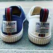 Ce week-end, chaussez cette petite toile légère de Palladium pour marcher et visiter 💙🤍💙🤍 #summer21 #sneakersaddict #womenshoes #toile Palladium France www.balka.fr