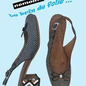 Envie d'avoir des chaussures différentes de vos copines ? NEMONIC est là avec ses talons toujours fantaisie et différents. Allez voir sur le site www.balka.fr🥳😍💥🌈 #fashion #womenshoes #escarpins #talon