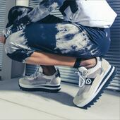 NO NAME utilise le mesh recyclé sur ce modèle Flex Jogger Ripple❤️💙🤩 #nonameshoes #sneakers #sneakersaddict #recycledmaterials #fashion