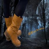 Une jolie mi-botte en cuir souple pour la fin de l'année 😍😍😍#fashion #shoes #shoesaddict #colors #boots @alpewomanshoes
