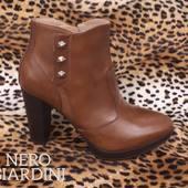 La boots A988711 cuoio si féminine #boots#shoesaddict#fashion#nerogiardini#color#new