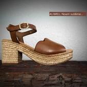 Foncez sur ce magnifique cuir d'ALIWELL coloris cuoio sur ce sublime modèle 😍😍😍 #shoes #shoesaddict #summer #cuoio #mode #chaussuresfemme @aliwell